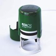 Печать автоматическая Colop R40 диаметр 40 мм + клише фото
