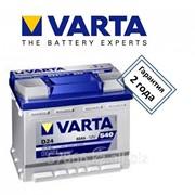 Аккумуляторы VARTA фото