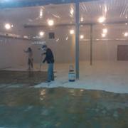 Обеспыливающая пропитка бетонных полов. фото