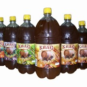 Квас домашний Благодать ПЭТ 1,5л на листьях смородины фото