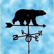 """Флюгер """"Медведь"""" малый фото"""