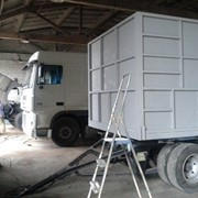 Изготовление зерновозов на грузовом автомобиле фото