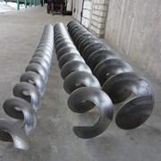 Спираль цельнотянутая для шнеков 250*250*57*4/2 фото