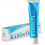 Отбеливающая зубная паста Radonta White фото