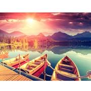 Картина АGL1-041 в раме 30*40*4,5 глянцевая Озеро фото