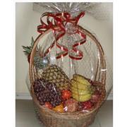 Доставка подарков, сувениров, цветов, букетов, цветы из конфет, фруктов, продуктов, корзина , с продуктами, фруктами фото