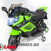 Детский электромотоцикл Minimoto LQ158 зелёный