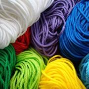 Шнурок текстильный (круглый, плоский) фото