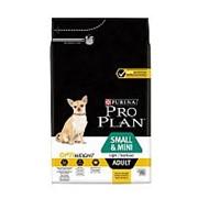 Pro Plan 3кг Small&Mini Сухой корм для собак мелких пород склонных к избыточному весу&стерил Курица фото