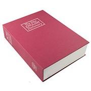 Книга сейф Английский словарь 26 см. красная фото