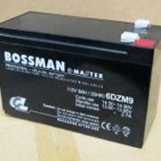 Аккумулятор 9 Ач свинцово-кислотный герметичный Bossman Master 12V 6DZM9 - GEL1290 фото