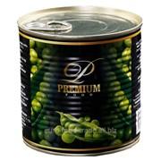 Горошек зеленый консервированный Premium фото