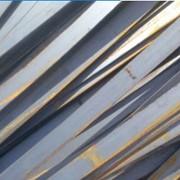 Полосы металлопроката. фото