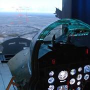 Полет на симуляторе самолета фото