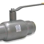 Кран шаровой LD Ду 150 Ру 16 сварка полнопроходной, с редуктором фото
