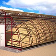 Ангар-зернохранилище фото