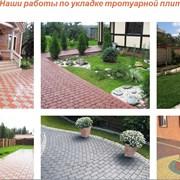 Укладка тротуарной плитки от 30м2 Минск и район фото
