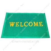 Коврик входной пена welcome 40х60 (цвета в ассортим.) №994784 фото