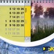 Изготовление календарей настольных фото