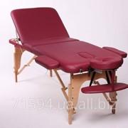 Трехсекционный деревянный складной стол CHARM фото