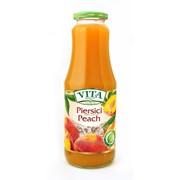 Нектар персиковый с мякотью и сахаром Vita Premium фото