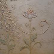 Создание рельефных (фактурных) произведений на основе штукатурки. фото