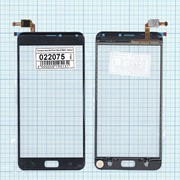 Сенсорное стекло (тачскрин) для Asus ZenFone 4 Max ZC554KL черное, Диагональ 5.5 фото