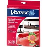 Салфетки для уборки Vortex Для мебели и техники 1 шт 40x50 см фото