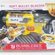 Пистолет с мягкими пульками Transformers 4 фото