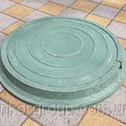 Люки канализационные полимерпесчаные фото