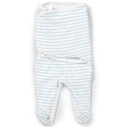 Конверт Summer Infant Конверт для пеленания SwaddleMe® Footsie, размер S, голубые полоски фото