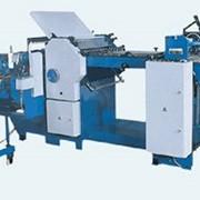Машина фальцевальный БФА 56-30 фальцевальная комбинированная автоматическая для получения 4-х сгибных тетрадей, макс. формат 580х900 мм фото