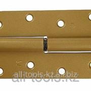 Петля накладная стальная ПН-110, цвет бронзовый металлик, правая, 110мм Код: 37655-110R фото