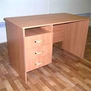 Стол однотумбовый.Школьная мебель. Столы и стулья преподавательские. фото