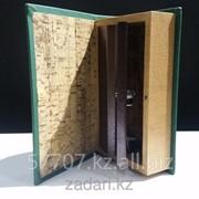 Книга сейф в деревянной обложке На удачу в делах и бизнесе фото