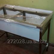 Оборудование из нержавеющей стали в наличии (столы производственные, ванны моечные) фото