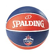 Spalding Мяч баскетбольный Euroleague CSKA №7 фото