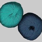 Пряжа из искусственных волокон фото
