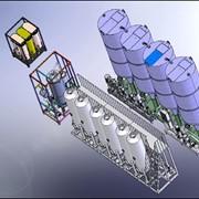Установка биодизельная УБТ-4, производства биодизеля (biodiesel) в потоке производительностью 88000 литров в сутки (производство биодизеля из любых растительных масел и животных жиров) фото
