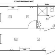 Проекты модульных быстровозводимых домов типовые. фото