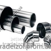 Кожух из оцинкованной стали для труб Tradeizol -отвод, 390мм фото
