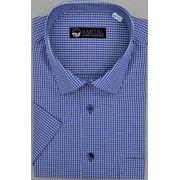 Классическая мужская сорочка (короткий рукав) фото