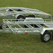 Прицепы «Сантей» для перевозки автомобилей! фото