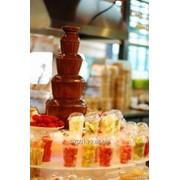Аппарат для шоколадного фонтана, высота 85 см, ярусов 5 фото