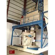 Завод по производству топливных пеллет из соломы фото