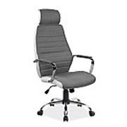 Кресло компьютерное Signal Q-035 (белый/серый) фото
