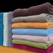 Махровое полотенце 40х70 (100% хлопок) фото