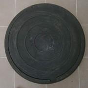 Люк канализационный, полимерный 5т фото