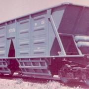Полувагон-хоппер, Полувагоны грузовые, Полувагон-хоппер для угля модель 22-4003 фото