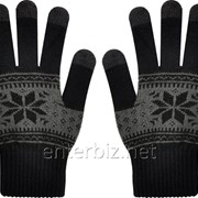 Перчатки Speed Link Cellux Universal Touchscreen Gloves 7-10 (L) 5 Finger Tips Black-Grey (C-101-7910-L-BKGY), код 129323 фото
